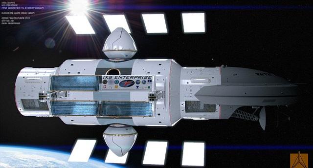Космический корабль IXS Enterprise
