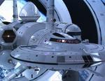 Нос космического корабля IXS Enterprise