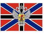 Почти как флаг кофедерации Штатов Америки (там тоже был орел)
