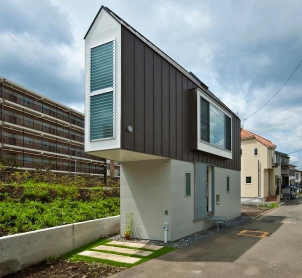 Красивый дом и минимальная конструкция