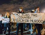 Сотни протестующих вышли на улицы Лондона
