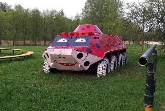 галерея фото танк тюнинг радует нас