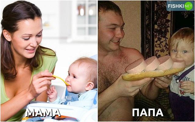 Дети с мамами и папами фото