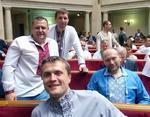 Депутаты Верховной Рады сегодня пришли на работу в вышиванках