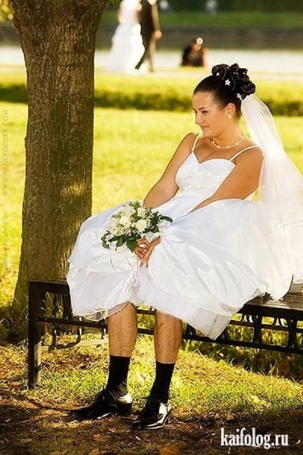 Смешные картинки со свадебными платьями, для