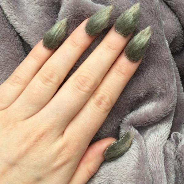 фото мохнатые ногти