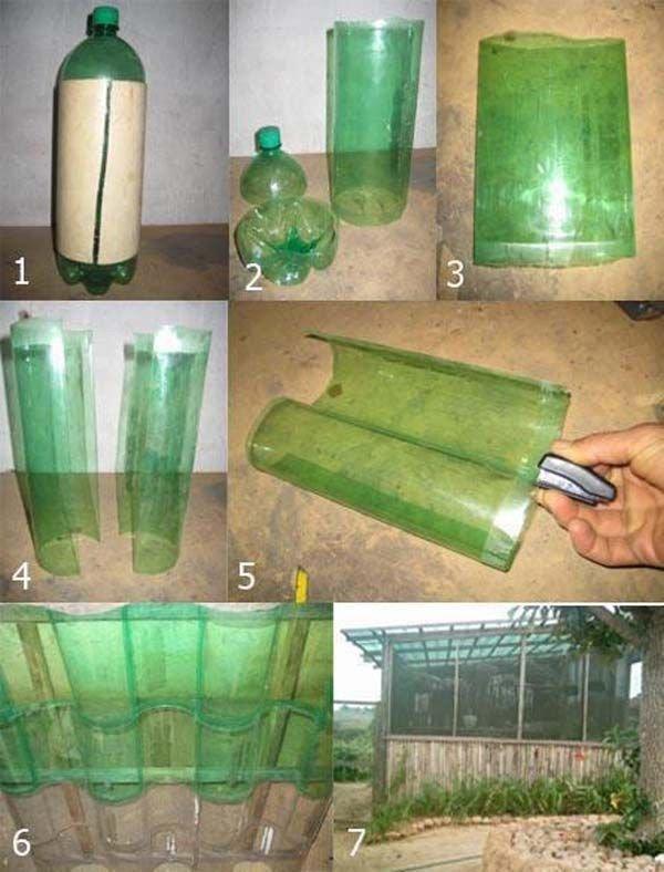 Как сделать из пластиковых бутылок своими руками для дачи