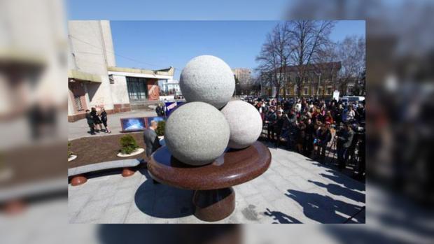 Памятник мороженому. Житомир обрел еще одну достопримечательность