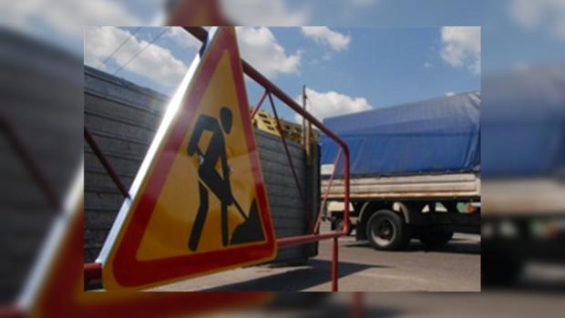 На Южном мостовом переходе проводятся ремонтные работы