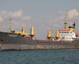 В Черном море российский сухогруз сел на мель