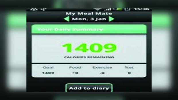 Приложение для смартфонов My Meal Mate помогает сбросить вес