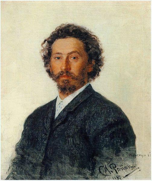 Илья́ Ефи́мович Ре́пин, автопртрет, (1887)