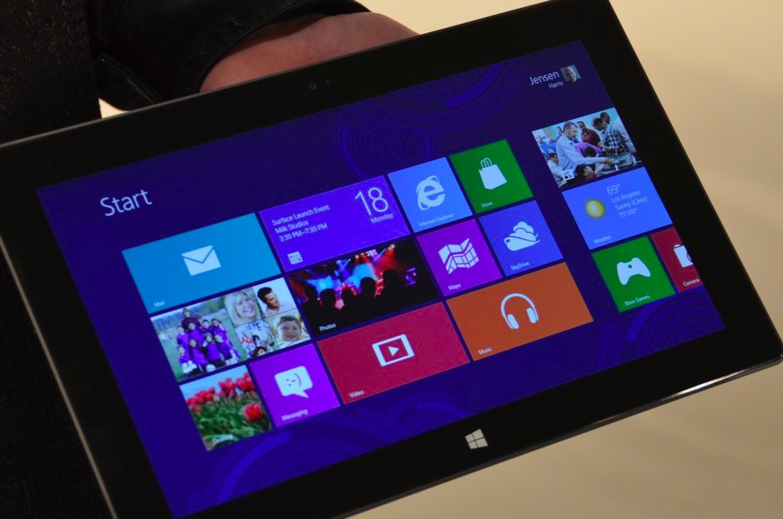 Вскоре свет увидит новый планшет от Microsoft