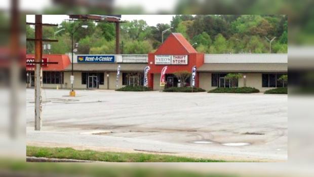Магазин в Атланте, где работал пострадавший