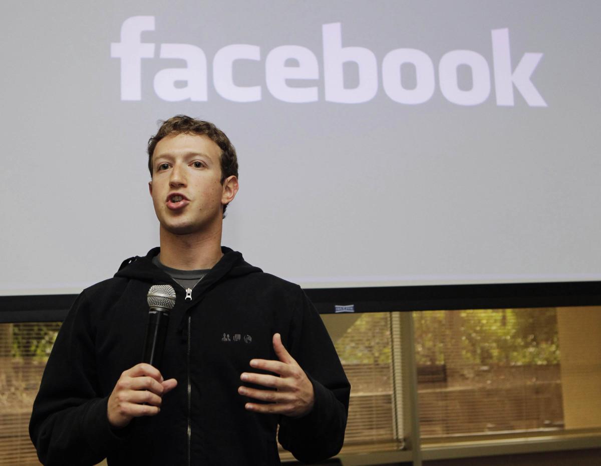 Основатель Facebook хочет получать 1 доллар в год