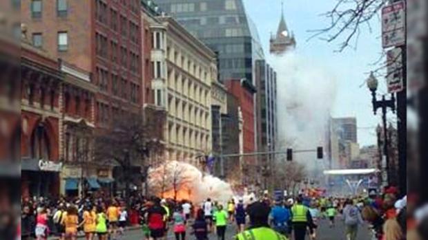 Бостонский теракт во время марафона