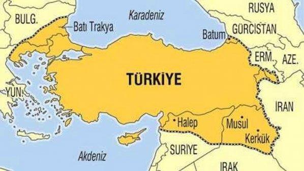 Карта «Великой Турции»: реанимация мечты