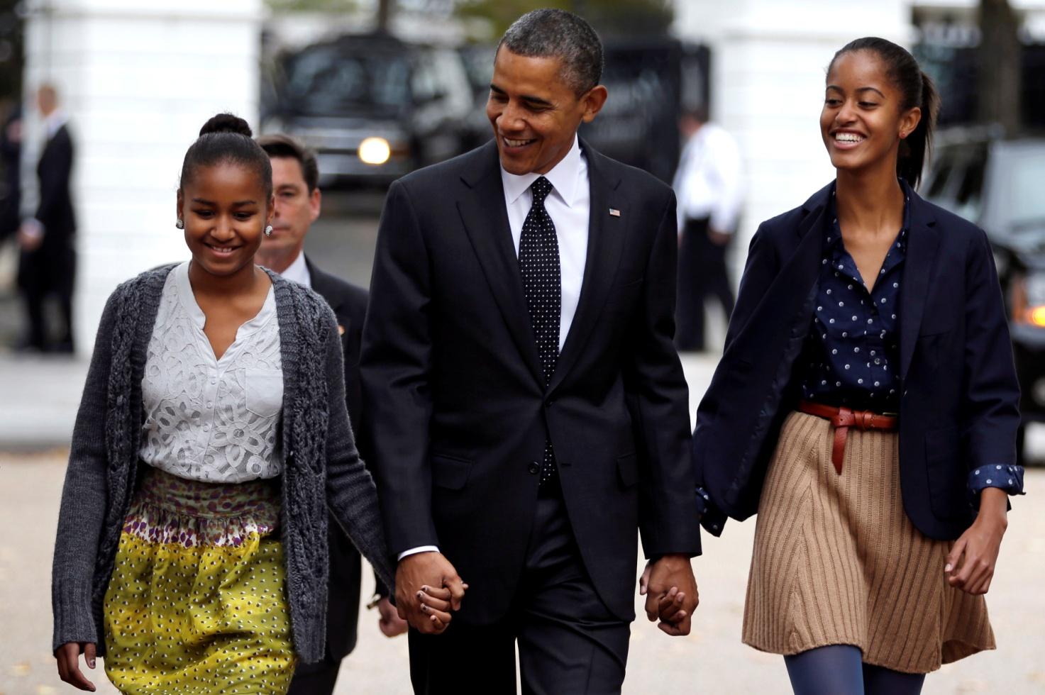 Президент США и его дети