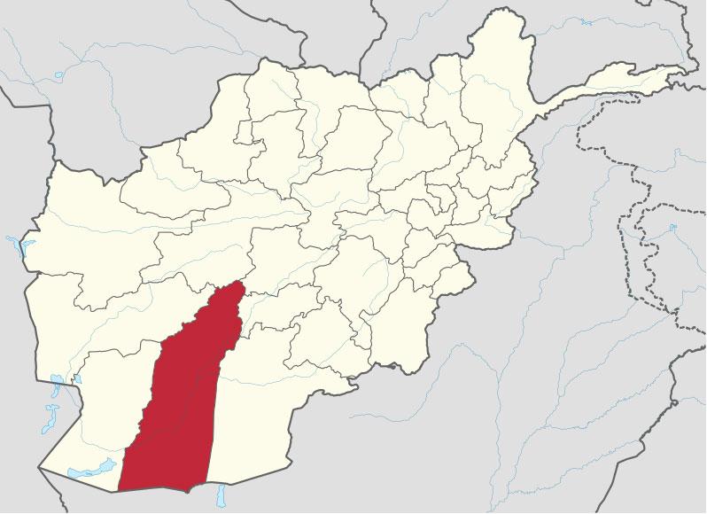 Провинция Гильменд на юге Афганистана