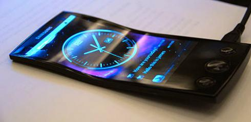 Телефон с гибким экраном возможно уже скоро поступит в продажу
