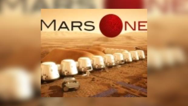 Возможно, таким будет первое поселение на Марсе