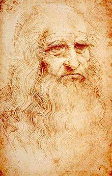Автопортрет кисти Леонардо да Винчи