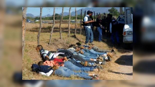 Мексиканские наркоторговцы убили 10 мирных жителей