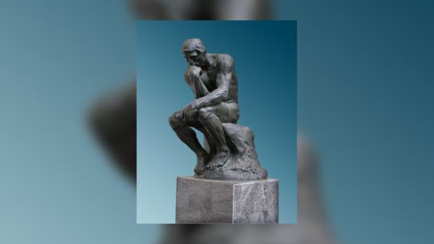 Больше 130 лет «Мыслитель» несет думу вложенную его творцом
