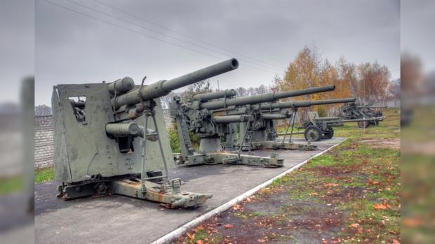 Часть экспозиции музея «Битва за Киев в 1943 году»