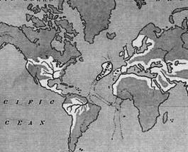 В Атлантическом океане обнаружены следы затонувшего континента