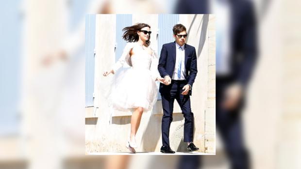Кира Найтли вышла замуж в старом платье