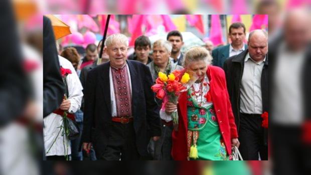 День Победы, Киев, события