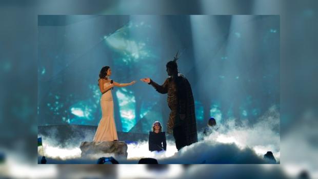 Злата Огневич может занять на «Евровидении-2013» второе место