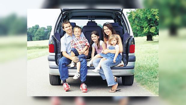 Хорошо путешествовать всей семьей