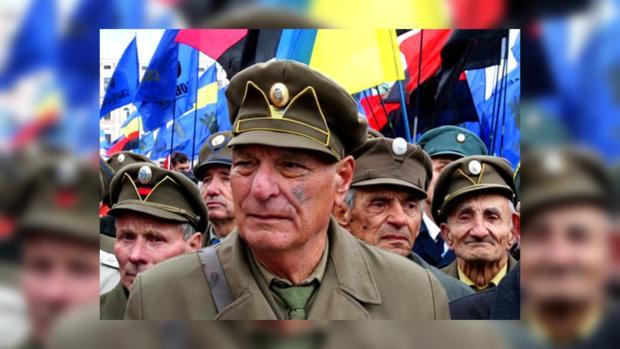 Ивано-Франковск. Марш ветеранов ОУН УПА