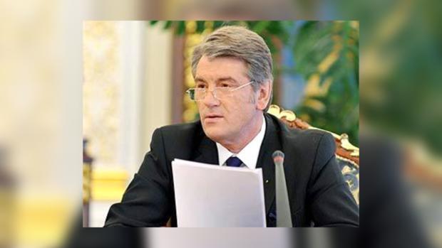 Ющенко занят строительством