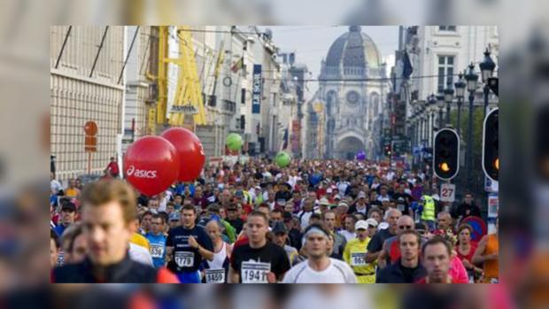 В брюссельском марафоне поучаствовали 37 тыс. человек 122 национальностей