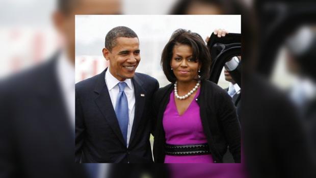 Мнение американцев: Мишель популярнее Обамы
