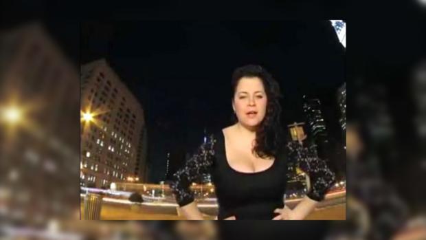 Певица Катрин в клипе «Привіт, Америка»
