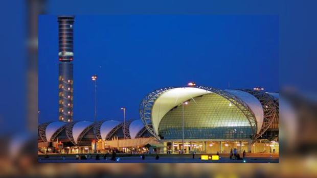 Аэропорт Бангкока считается одним из самых больших на территории Азии