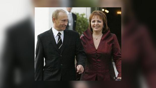 Брак четы Путиных всегда был примером крепкого союза