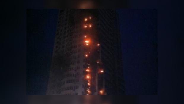 Дом на Гетьмана, 16 горит уже в 4-й раз