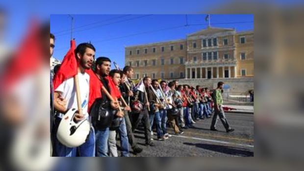 Греки недовольны новыми мерами экономии
