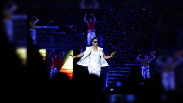 Джастин Бибера успешно продолжил выступление