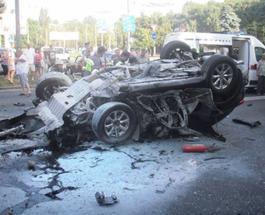 ДТП в Киеве: по вине пьяного сотрудника СБУ на Infiniti погибло 2 человека