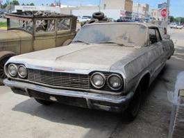 В Америке найден автопарк Chevrolet с моделями прошлого века