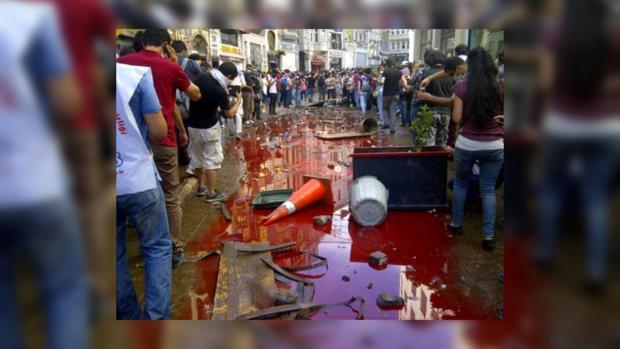 Протесты охватили всю Турцию