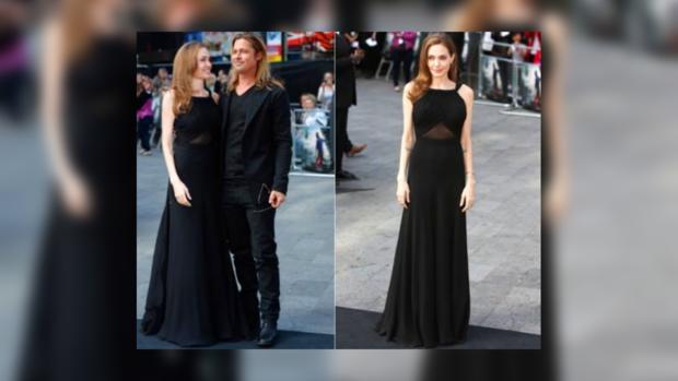 Анджелина Джоли на премьере в Лондоне