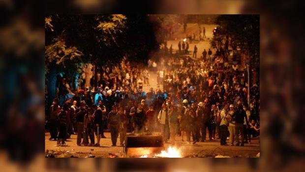 В Анкаре полиция попыталась разогнать мирный протест