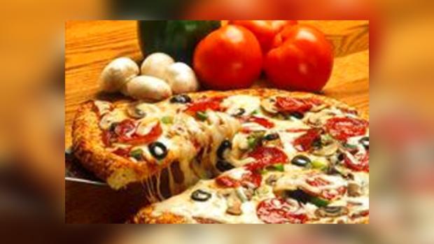 Пицца к заказчику прилетит прямо в руки.